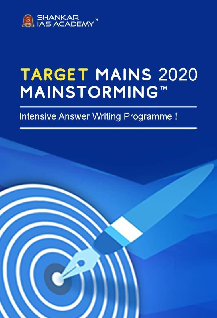TARGET Mains 2020 - Mainstorming