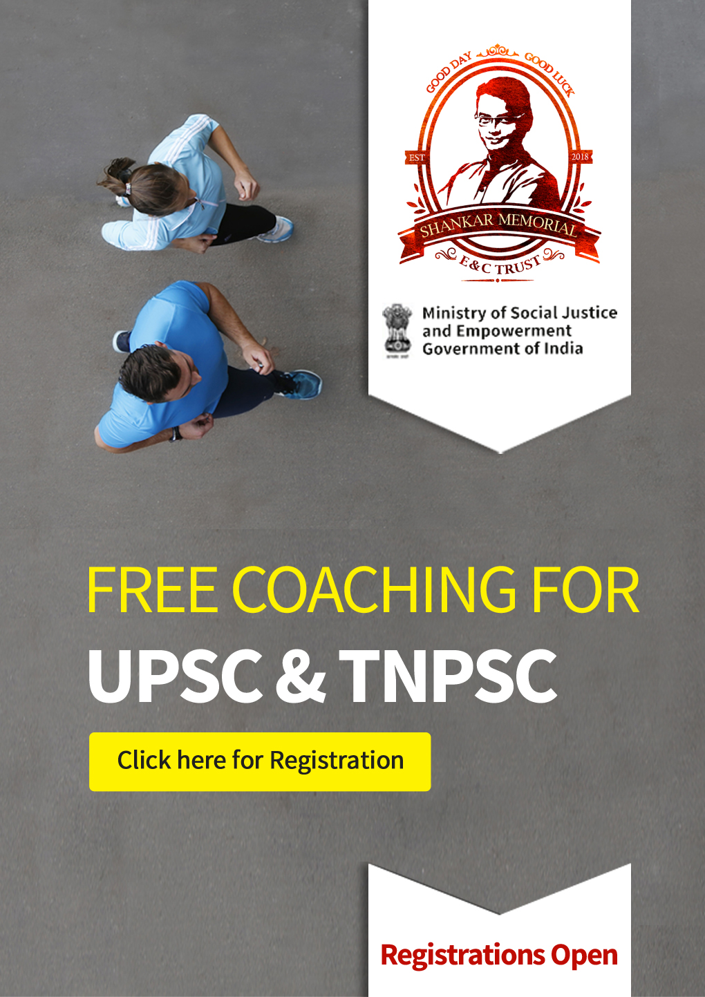 Free Coaching for UPSC and TNPSC