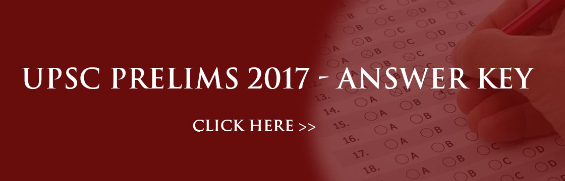 Prelims 2017 Answer Key